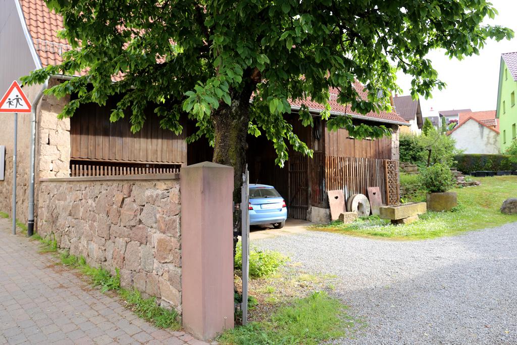 Gelände der Göttmannsmühle in Zotzenbach