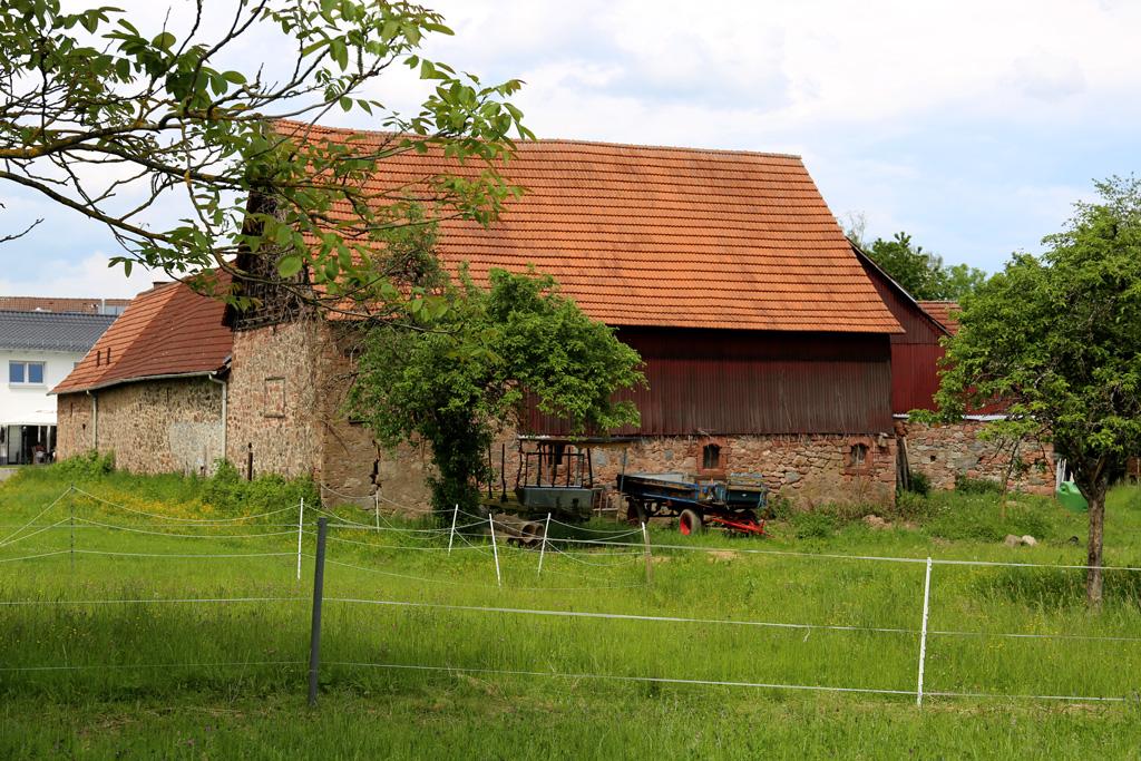 Die Neumühle in Rimbach - rückseitig