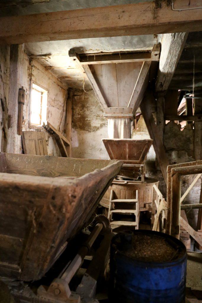 Die Neumühle in Rimbach - Innenaufnahme