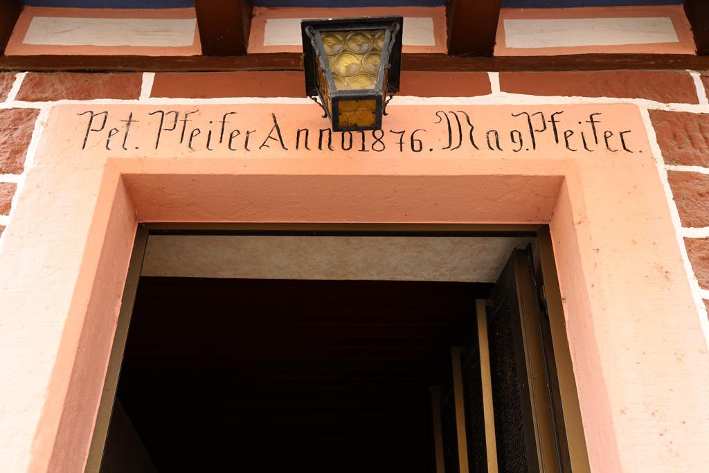 Die Pfeifersmühle in Zotzenbach - jetzt Wohnhaus