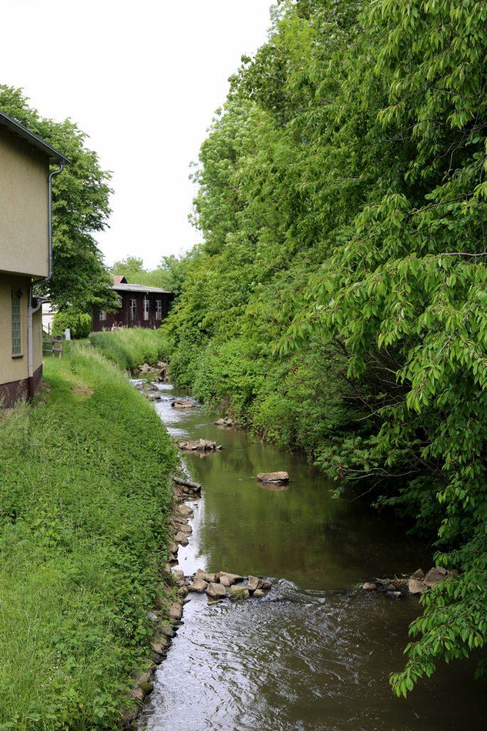 Die Weschnitz in Rimbach