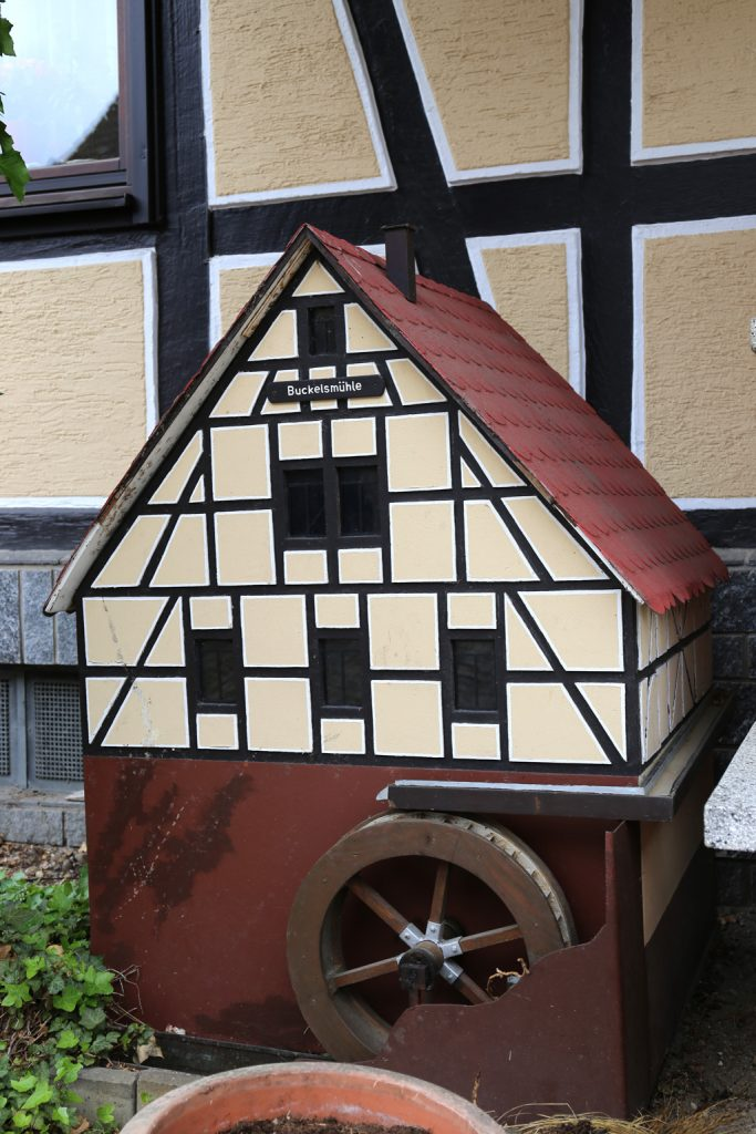 Die Buckelsmühle in Rimbach - Modell