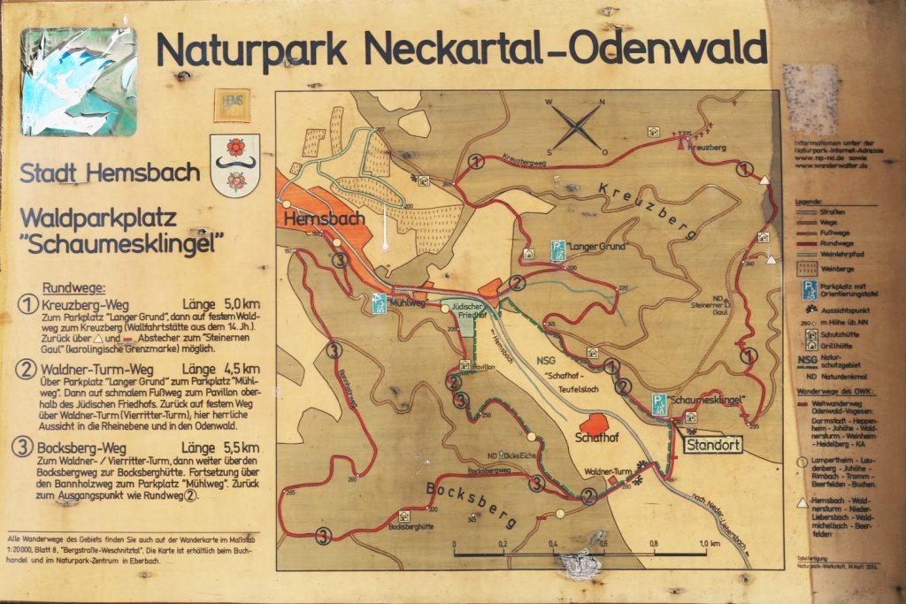 Naturpark Neckar-Odenwald Vierritterturm Waldnerturm