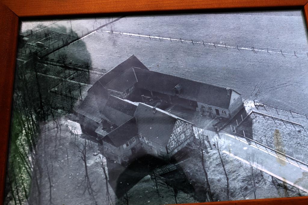 Die Neumühle in Rimbach - alte Aufnahme